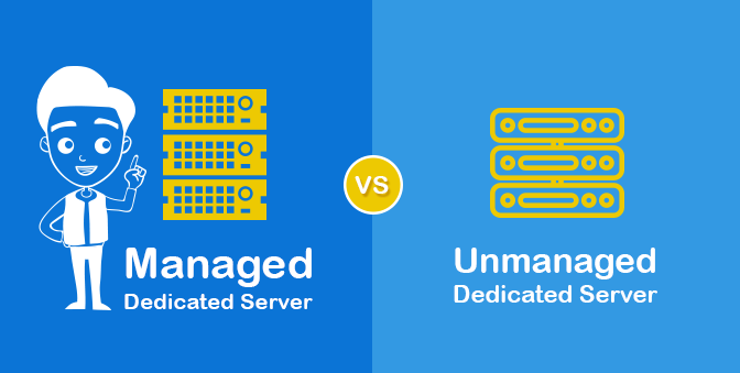 Image result for All About Managed and Unmanaged Dedicated Servers